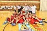 El UCAM Murcia Junior, campeón de la Liga regional (83-69)