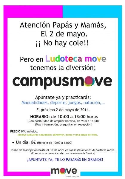 Move organiza un campus para niños que tendrá lugar el próximo 2 de mayo