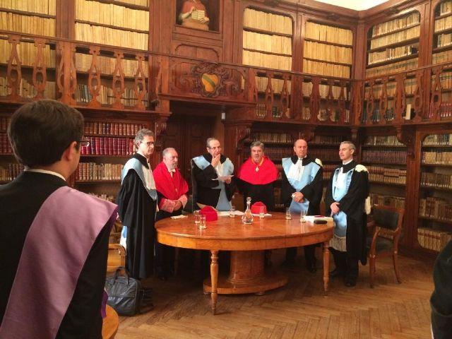 El investigador Germán Teruel defiende en Bolonia su tesis doctoral sobre la libertad de expresión y la negación del Holocausto - 1, Foto 1