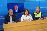 La Policía Local de Molina de Segura inicia la campaña de prevención de hurtos y robos de fruta en la zona del campo y huerta