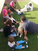 Taller de terapia asistida con perros