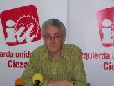 IU-Verdes de Cieza intentará que el Pleno se pronuncie contra la reforma del art. 135 CE