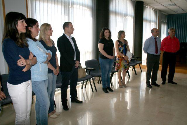 El alcalde de Lorquí consigue el compromiso del presidente para iniciar la construcción de un comedor escolar este curso y un nuevo Centro de Salud en varias fases - 3, Foto 3