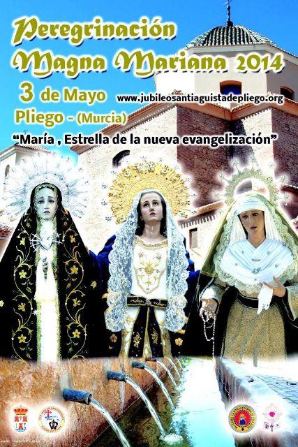 Magna peregrinación Mariana este sábado en Pliego - 1, Foto 1