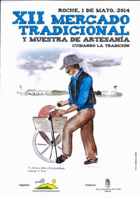 Mañana se celebra el mercado tradicional y la muestra de artesanía de Roche - 1, Foto 1