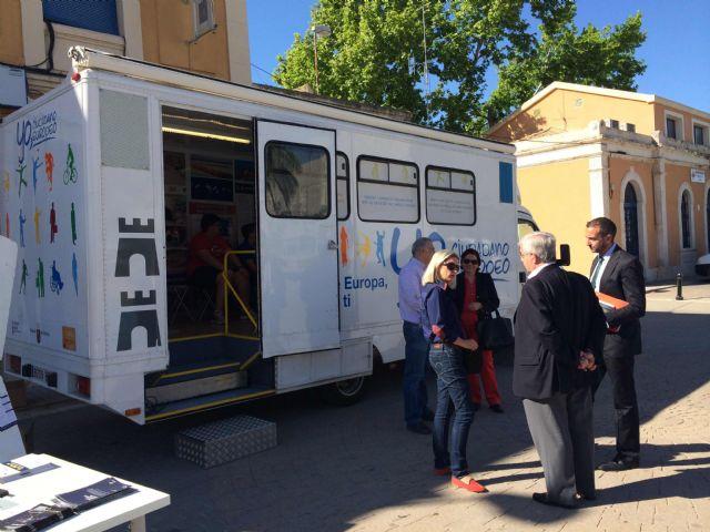 Escolares de Jumilla aprenden la importancia y repercusión de formar parte de la ciudadanía europea - 1, Foto 1