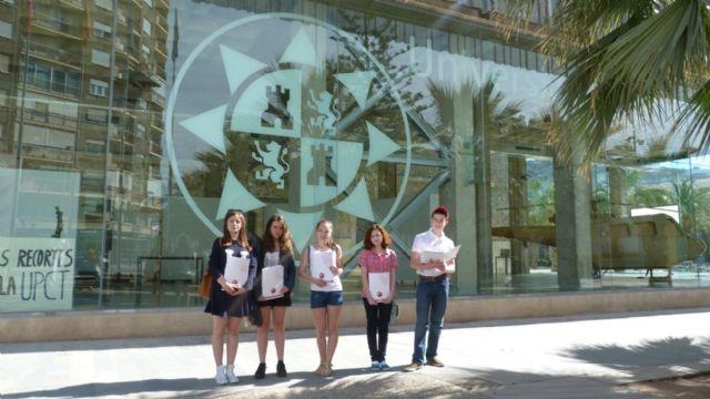 Ocho jóvenes rusos perfeccionan su inglés y español en Cartagena. - 3, Foto 3