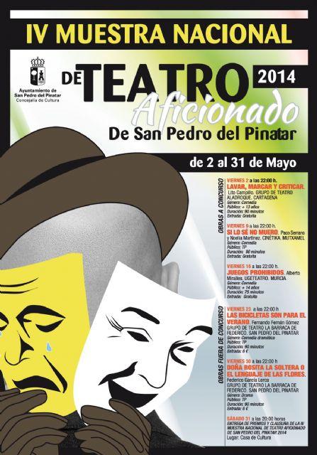La IV Muestra de Teatro Aficionado de San Pedro del Pinatar premia las mejores representaciones amateur - 1, Foto 1
