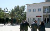 El alcalde de Lorquí consigue el compromiso del presidente para iniciar la construcción de un comedor escolar este curso y un nuevo Centro de Salud en varias fases
