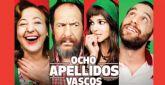 Los días 10, 11 y 12 de mayo se proyectarán en 'La Cárcel' tres pases cada día de la película 'Ocho apellidos vascos'