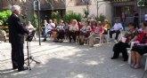 Los mayores del Centro Social Murcia II conmemoran el 75 aniversario del fallecimiento de Machado con actividades de lectura