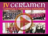 Mañana tendr� lugar el IV Certamen de Cornetas y Tambores Solidarios a beneficio de la Asociaci�n Española Contra El C�ncer