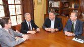 La CHS y el Ayuntamiento de La Unión estudian el emplazamiento de la depuradora de Portmán
