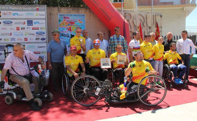 Deportistas de élite participan en la prueba de la Copa de España de Ciclismo Adaptado en Puerto Lumbreras - 1, Foto 1