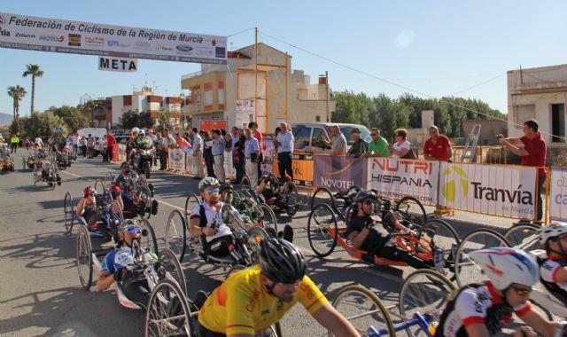 Deportistas de élite participan en la prueba de la Copa de España de Ciclismo Adaptado en Puerto Lumbreras - 2, Foto 2