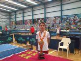 Miguel Ortiz se alza con la medalla de oro en el Campeonato de España Infantil Escolar de Tenis de Mesa