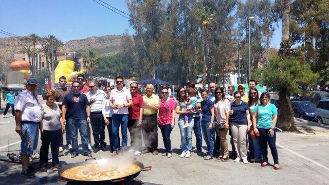 El PP de Alhama participó en el tradicional concurso de arroces de los Mayos, Foto 1