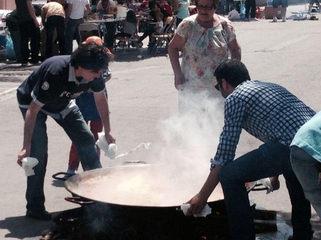 El PP de Alhama participó en el tradicional concurso de arroces de los Mayos, Foto 3