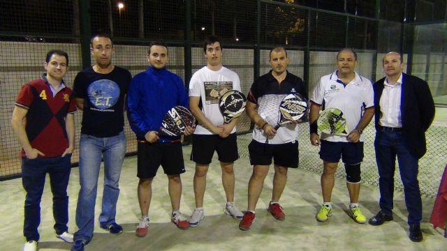 La pareja formada por Méndez y José campeona de la liga local de pádel - 1, Foto 1