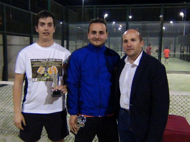 La pareja formada por Méndez y José campeona de la liga local de pádel - 2, Foto 2