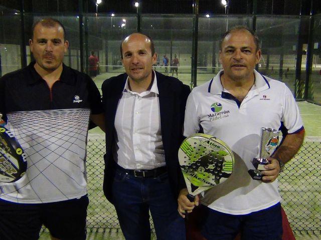 La pareja formada por Méndez y José campeona de la liga local de pádel - 3, Foto 3