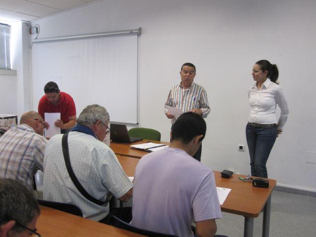 Más de una treintena de personas participan en el curso de manipulador de fitosanitarios, Foto 1