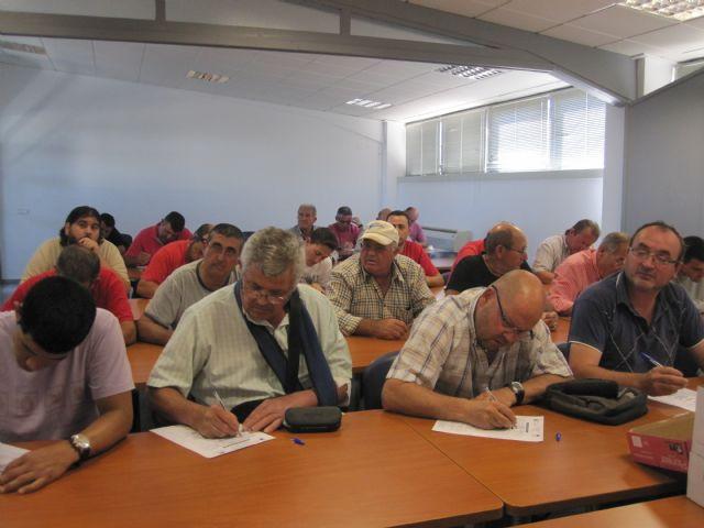 Más de una treintena de personas participan en el curso de manipulador de fitosanitarios, Foto 2