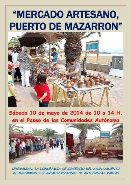 Este sábado 10 de mayo se celebra el último Mercado Artesano de Puerto de Mazarrón con horario de invierno - 1, Foto 1