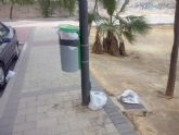 IU-Verdes Alcantarilla denuncia la dejadez del PP en el control de la recogida de basuras y la limpieza viaria