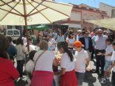 Los jovenes emprendedores del Colegio Alfonso X el sabio salen a la calle