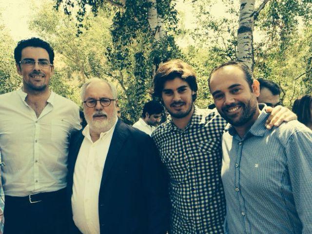 Concejales de Totana participan en un acto con jóvenes en Archena junto a los candidatos Arias Cañete y Valcárcel, Foto 3