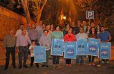 El PP de Puerto Lumbreras comienza la Campaña Electoral con la pegada de carteles