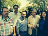 Concejales de Totana participan en un acto con jóvenes en Archena junto a los candidatos Arias Cañete y Valcárcel