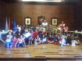 Los alumnos del colegio Herrerías conocen la historia de La Unión