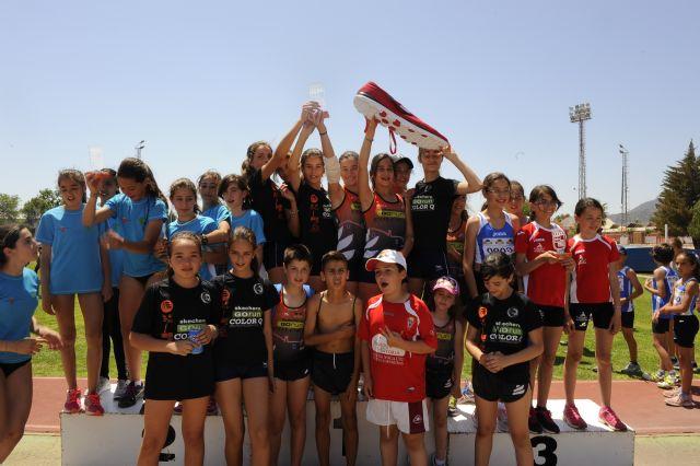 El equipo Skecher go run-ColorQ-Club Atletismo Nogalte campeón regional de Clubes en categoría infantil femenina - 1, Foto 1