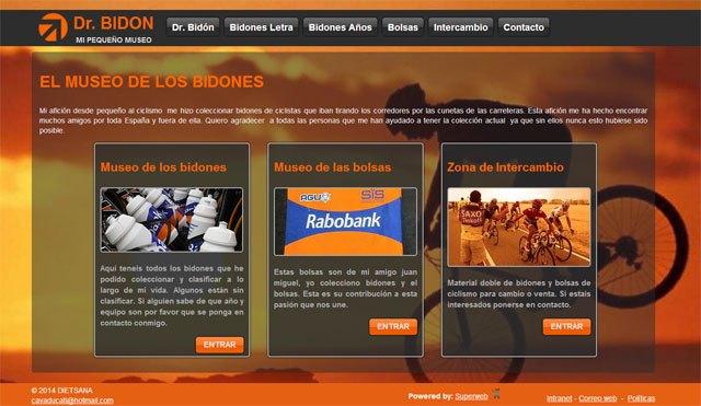 Descubre la colección de bidones de Dr. Bidón en su nueva web, Foto 1