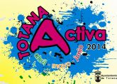 El programa Totana Activa se amplía con una veintena más las programadas para los meses de mayo y junio