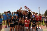 El equipo Skecher go run-ColorQ-Club Atletismo Nogalte campeón regional de Clubes en categoría infantil femenina
