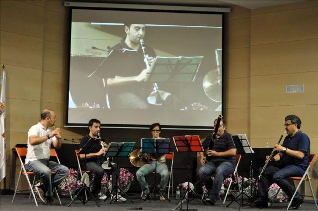 El quinteto ´Maraña´ cierra el ciclo de conciertos didácticos - 1, Foto 1