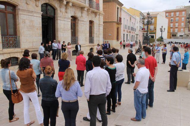 Minuto de silencio por el asesinato de Isabel Carrasco - 1, Foto 1