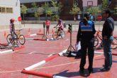 M�s de 600 escolares se forman en educaci�n vial con el Parque Infantil de Tr�fico