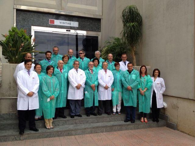 """La Comisión de Industria visita las instalaciones de """"ElPozo"""", la primera empresa productora de la región, Foto 2"""