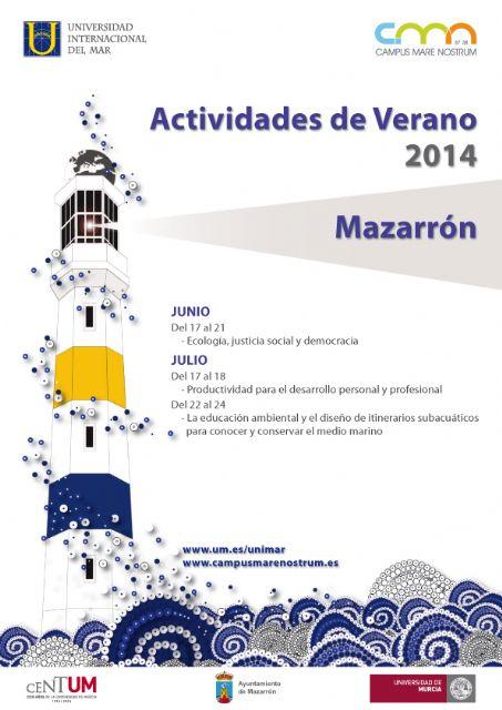 La Universidad Internacional del Mar programa 3 interesantes cursos para los meses de junio y julio - 1, Foto 1