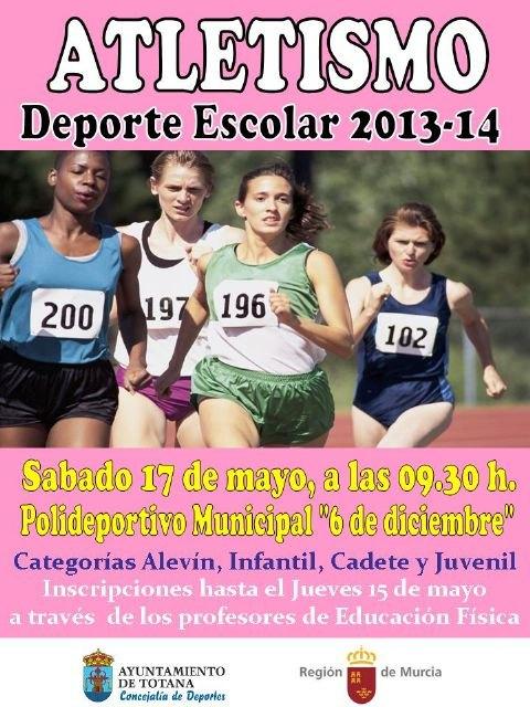 La concejalía de Deportes organiza la fase local de atletismo de Deporte Escolar, Foto 2