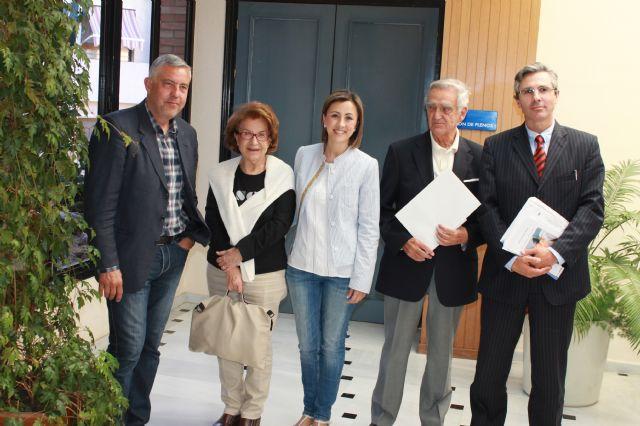 Ramón Muñoz-Chápuli Oriol, ganador de la XIV edición del Martínez-Mena. Ramón Bascuñana ha obtenido el segundo premio, Foto 1