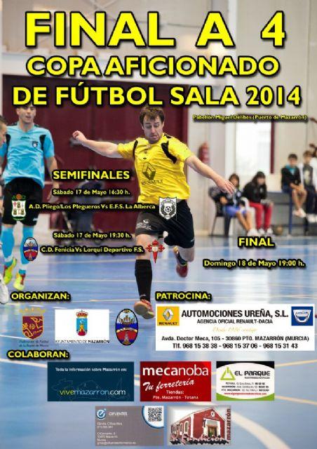 El C.D. Fenicia F.S. disputa la ´Final Four´ de la Copa Aficionado que se celebra este fin de semana en Mazarrón - 2, Foto 2
