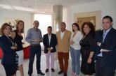 La directora del Instituto de Turismo, Mariola Martínez se reunió con los concejales de Turismo del Mar Menor, en San Javier