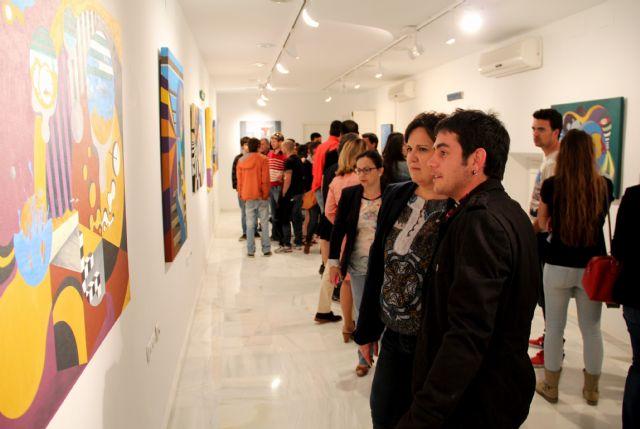 El joven artista lumbrerense Salva Piñero inaugura su exposición de pintura Locomotoras en el Centro Cultural Casa de los Duendes - 2, Foto 2