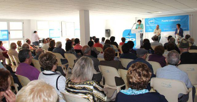 El Partido Popular de Puerto Lumbreras celebra un acto sectorial con personas mayores en el Centro de la 3ª Edad Vicente Ruiz Llamas - 2, Foto 2