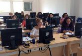 15 desempleados de Las Torres de Cotillas se forman de manera gratuita en actividades administrativas en la relación con el cliente